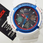 G-SHOCK AWG-M100TR-7AJF White Tricolor Series
